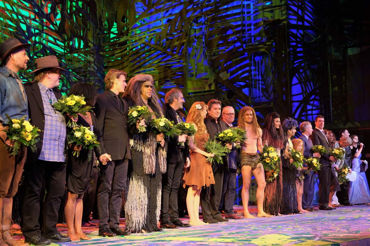 tarzan premiere im metronom theater oberhausen musical lifestyle. Black Bedroom Furniture Sets. Home Design Ideas